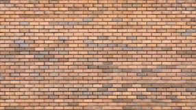 Красная кирпичная стена Красные кирпичные стены Равномерная кирпичная кладка Стоковое Изображение