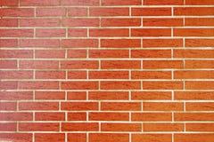 Красная кирпичная стена Стоковые Изображения