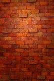 Красная кирпичная стена. Стоковое фото RF