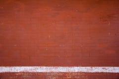 Красная кирпичная стена Стоковые Фото