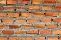 Красная кирпичная стена Стоковое Фото