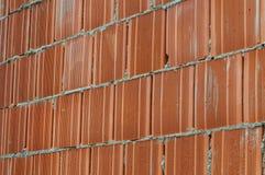Красная кирпичная стена стоковое изображение