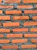 Красная кирпичная стена Стоковая Фотография RF