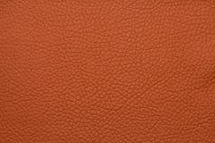 Красная кожаная grained картина предпосылки текстуры Стоковое фото RF