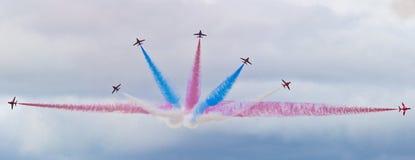 Красная команда дисплея стрелки Стоковая Фотография RF