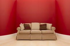красная комната Стоковые Фото
