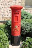 Красная коробка штендера стоковые изображения rf
