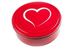 Красная коробка Стоковые Фотографии RF