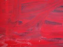 Красная краска на стене Стоковые Изображения RF