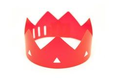 Красная крона стоковая фотография rf