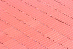 Красная крыша стоковая фотография rf