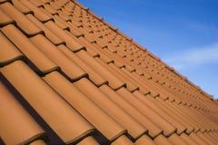 красная крыша Стоковые Фото