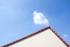 красная крыша Стоковое Фото