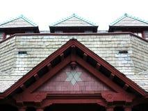 красная крыша Стоковые Изображения RF