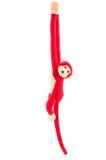 Красная кукла обезьяны Стоковое фото RF