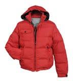Красная куртка Стоковые Фото