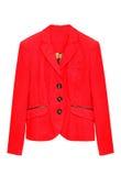Красная куртка стоковая фотография rf