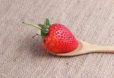 Красная клубника Стоковое фото RF