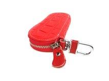 Красная ключевая цепь Стоковое Фото