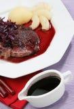 красная лоза соуса Стоковое Фото