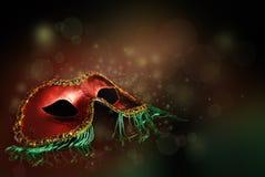Красная маска Стоковые Фото