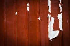 Красная металлопластинчатая предпосылка стоковая фотография