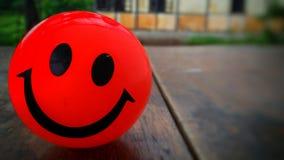 Красная милая улыбка Стоковое Фото
