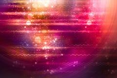 Красная молния Стоковое Фото