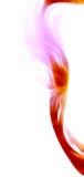 красная мягкая волна Стоковая Фотография