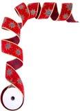 красная нашивка Стоковое фото RF