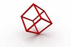 Красная оправа Стоковая Фотография RF