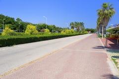 Красная дорожка дороги huandaolu Стоковые Изображения RF