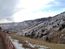 красная долина Колорадо утеса Стоковые Изображения RF