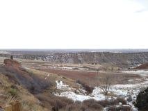 красная долина Колорадо утеса Стоковое Фото