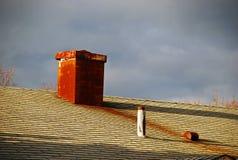 Красная печная труба Стоковые Фотографии RF