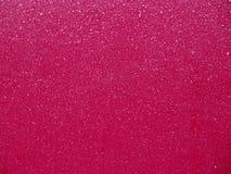 Красная поверхность красиво покрытая от заморозка, как раз как искусство Стоковое Изображение RF