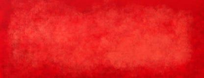 Красная предпосылка рождества с винтажной текстурой, старой текстурированной бумагой или стеной стоковые изображения