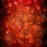 Красная предпосылка со светами bokeh 10 eps иллюстрация штока