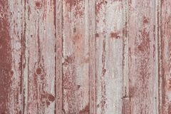 Красная предпосылка текстуры доски амбара Стоковые Изображения