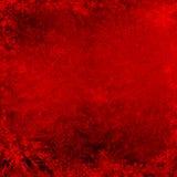 Красная предпосылка текстуры grunge рождества Стоковое Изображение