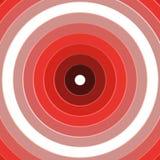 Красная предпосылка цели колец иллюстрация вектора