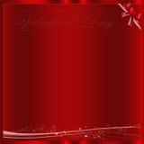 Красная предпосылка Валентайн Стоковые Изображения RF