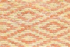 Красная предпосылка кирпичной стены с картиной косоугольника Стоковое фото RF