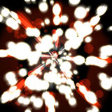 Красная предпосылка конспекта заграждения Стоковая Фотография