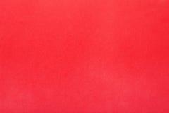 Красная предпосылка, простая бумажная текстура Стоковое Изображение