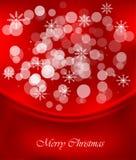 Красная предпосылка рождества бесплатная иллюстрация