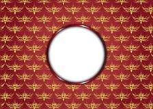 Красная предпосылка сбора винограда Пробел для сообщения Стоковое Фото