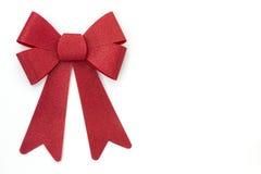 Красная предпосылка смычка праздника Стоковое Изображение RF
