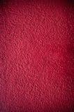 Красная предпосылка стены штукатурки Стоковые Фото
