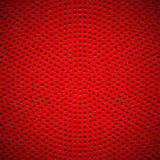 Красная предпосылка с картиной пефорированной кругом Стоковые Фотографии RF